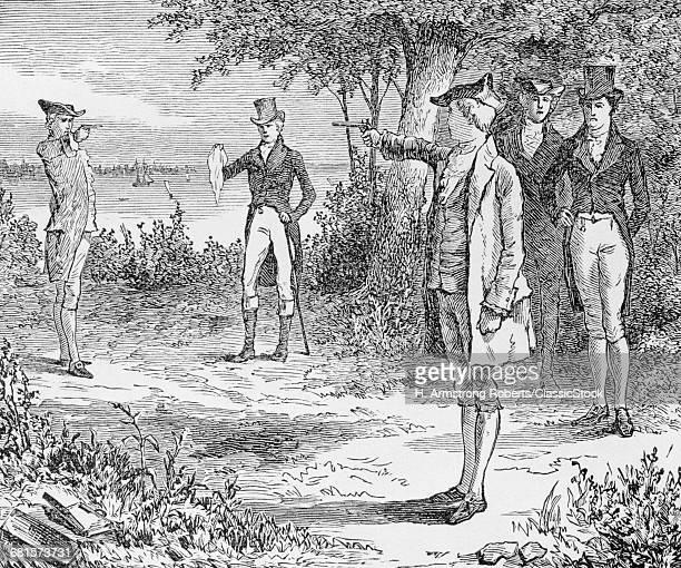 1800s DUEL BETWEEN...