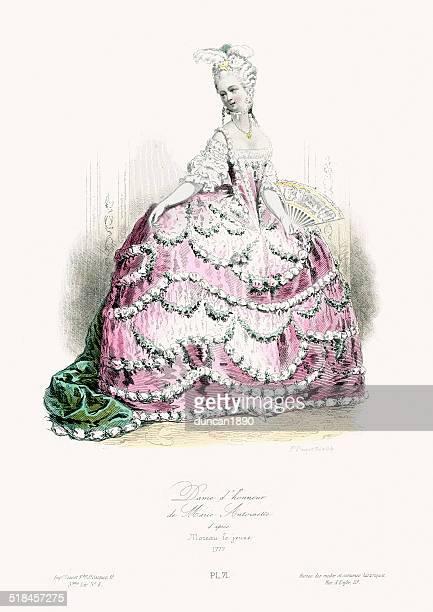 18th Century Fashion - Maid of honor