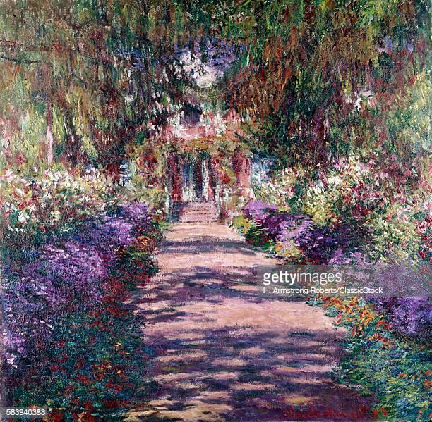 60 top garden path stock illustrations clip art cartoons