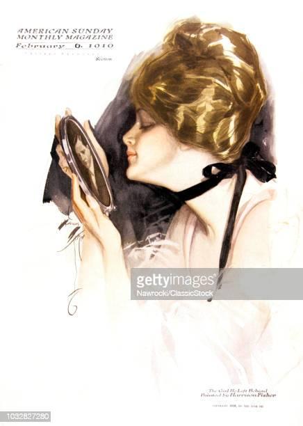 1910s PORTRAIT WOMAN...