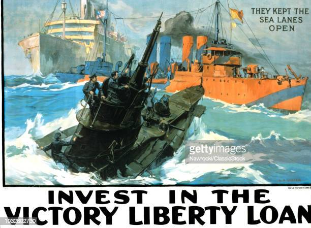 1910s WORLD WAR ONE VICTORY LIBERTY LOAN BOND POSTER