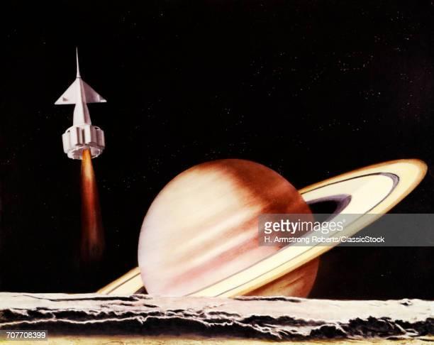 1960s FANTASY SPACECRAFT...