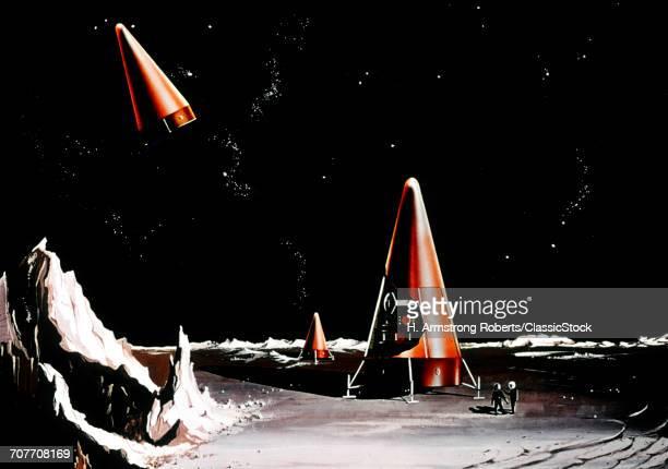 1960s NASA DRAWING CONE...