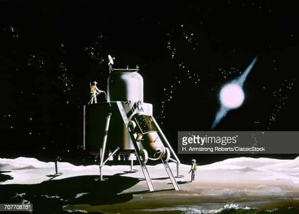 1960s NASA ILLUSTRATION...