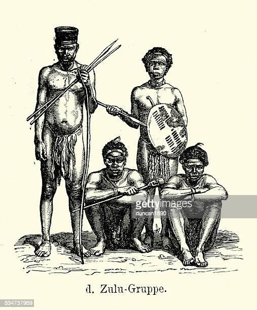 19th Century Africa -  Zulus