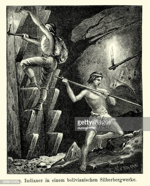 19th Century Bolivia - Silver Mine