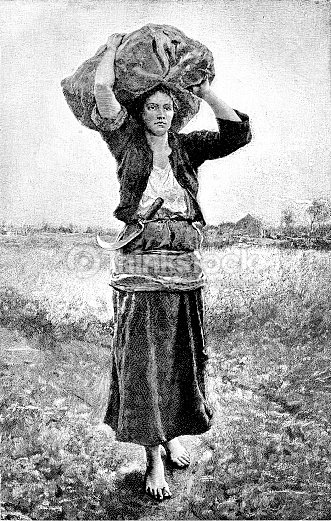 http://media.gettyimages.com/illustrations/19th-century-engraving-of-a-countryside-scene-and-a-barefoot-peasant-illustration-id890041742?s=170667a&w=1007