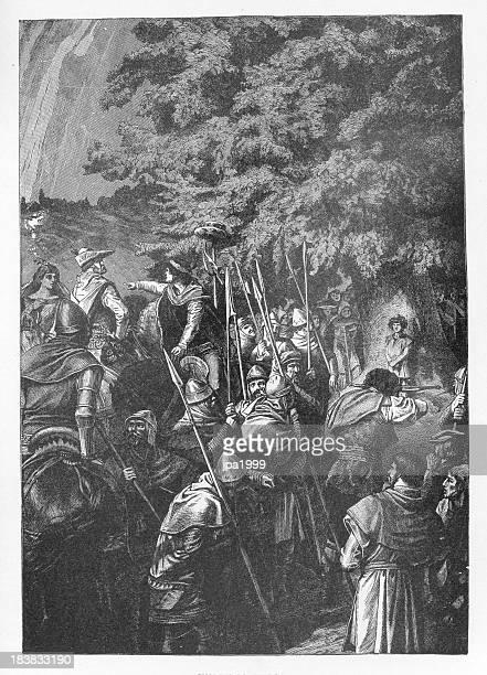19th century illustration of Wilhelm Tell
