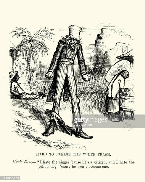 19th Century Satire on racism in the USA