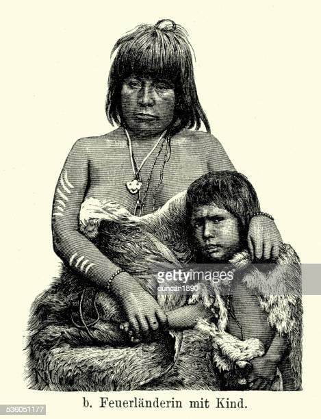 19th Century Tierra del Fuego - Selknam People