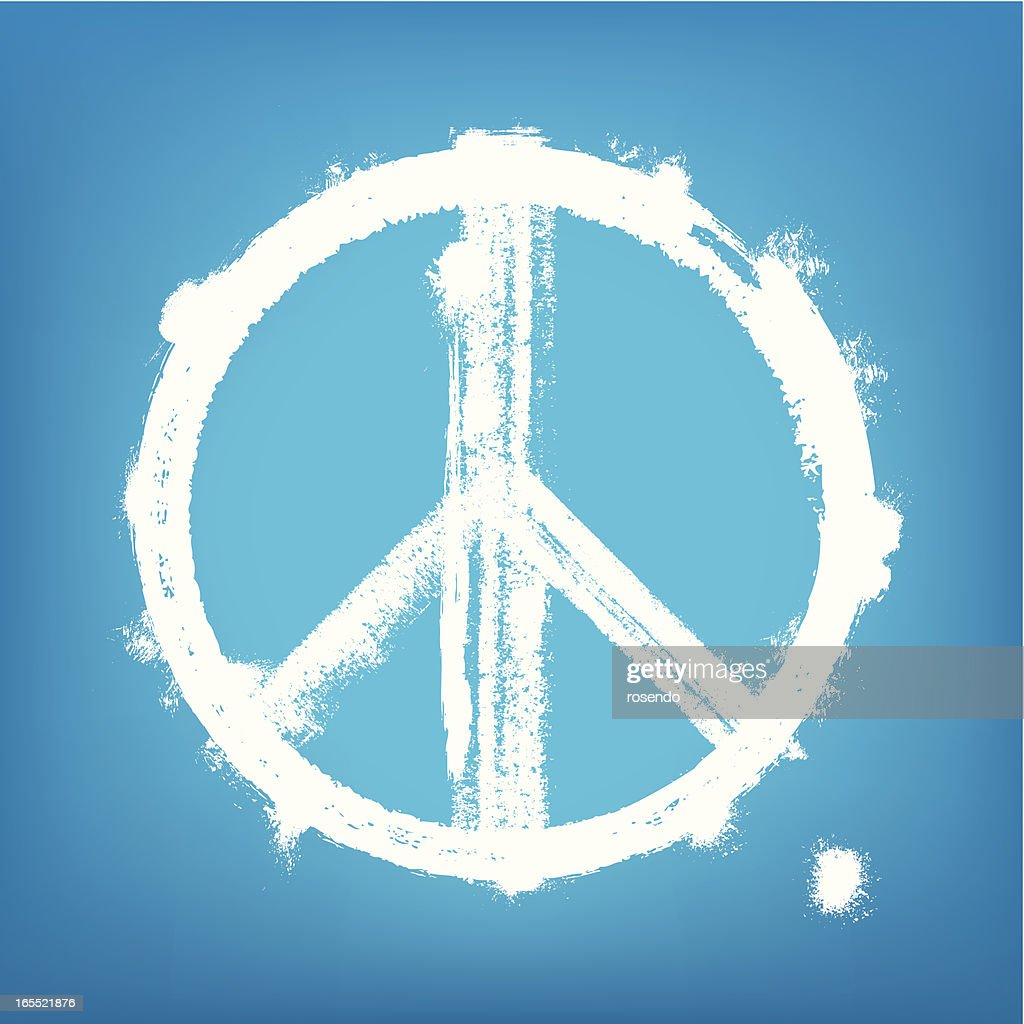 1-credit peace sign