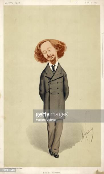 English novelist and poet Algernon Charles Swinburne