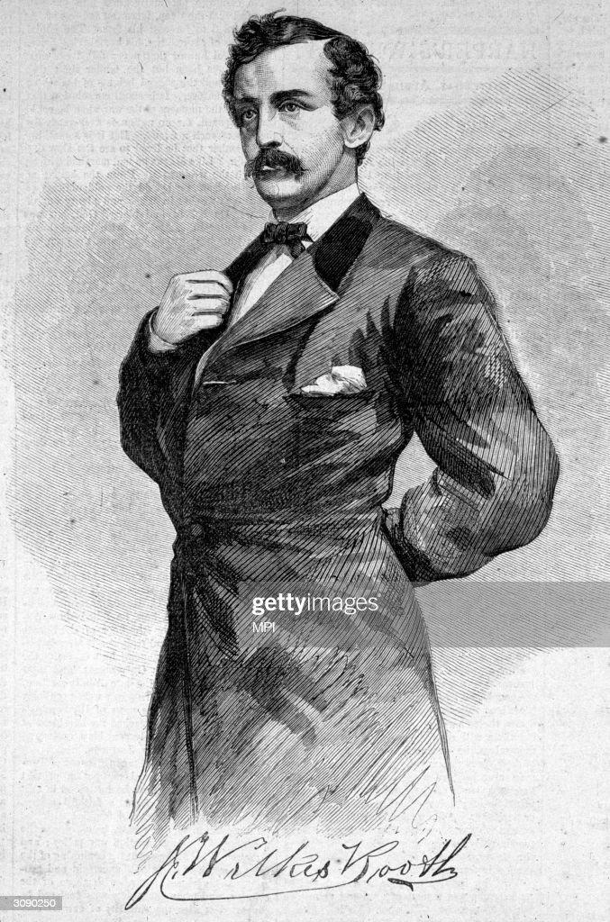 John Wilkes Booth (1838 - 1865), the assassin of President Abraham Lincoln.
