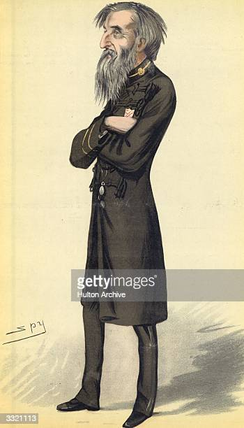 English religious leader William Booth founder of the Salvation Army and often referred to as 'General Booth' Vanity Fair No 733 Men of the Day No...