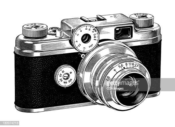 Vintage Camera Stock Illustrations Getty Images