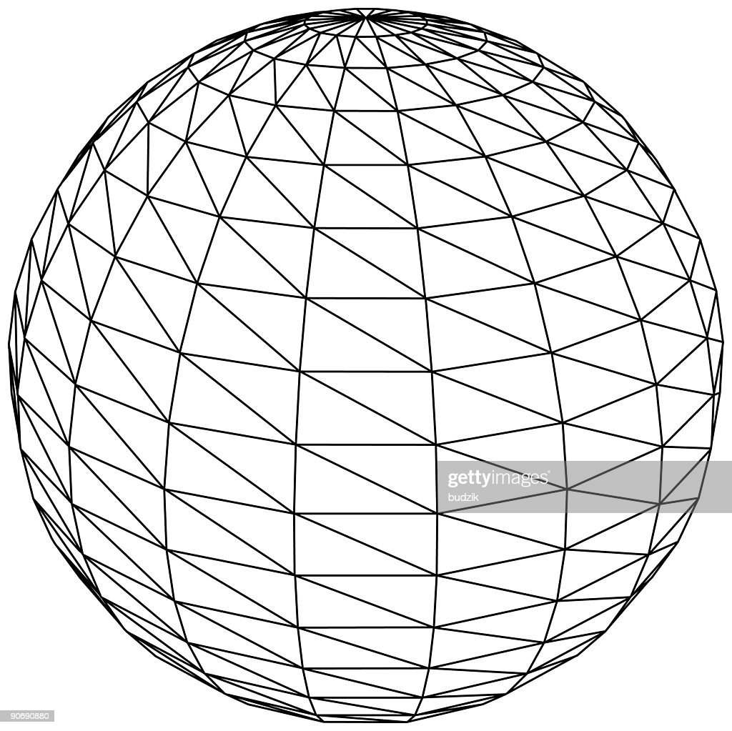 3d Sphere Ball Or Globe Vector Stock Illustration | Getty Images