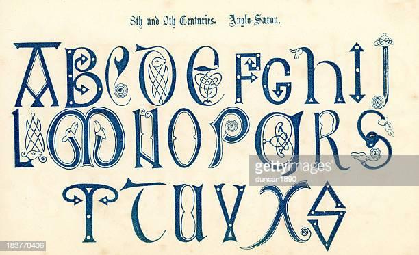 8th Century Anglo Saxon Alphabet