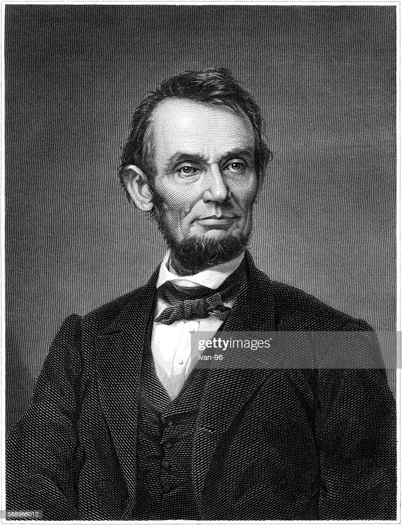 Abraham Lincoln : stock illustration