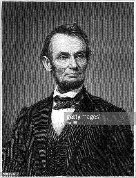 abraham lincoln - former stock illustrations, clip art, cartoons, & icons
