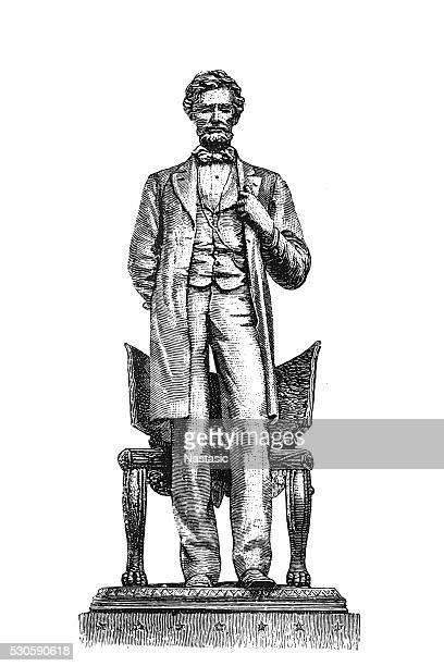 Abraão Lincoln pé, 1864
