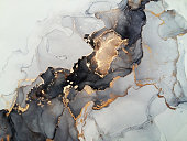 Abstract alcohol ink / watercolor painting background. Modern art texture.