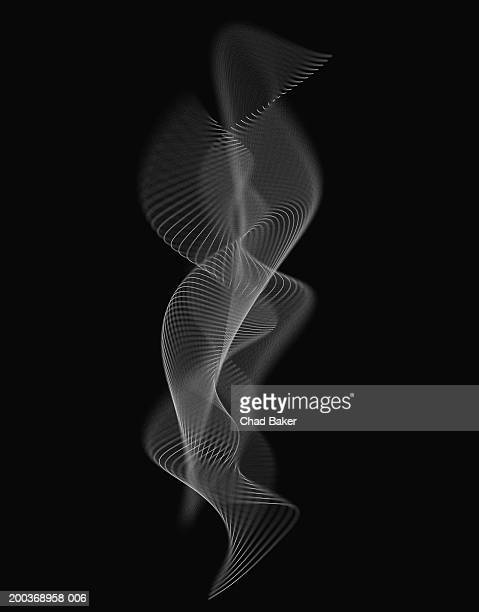 abstract background (digital) - black and white stock illustrations