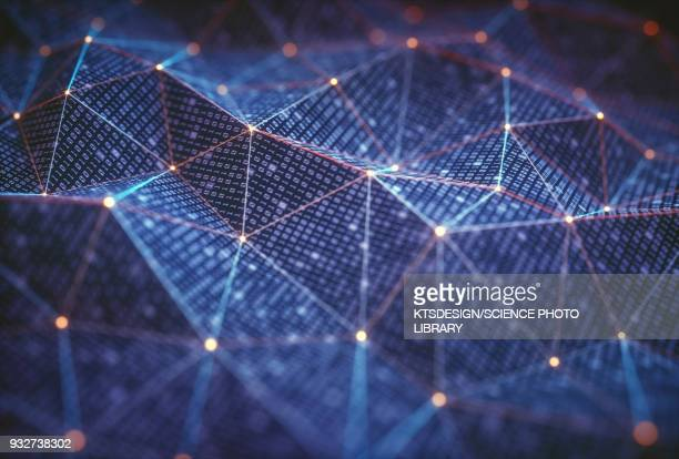 abstract background, illustration - binary code stock illustrations