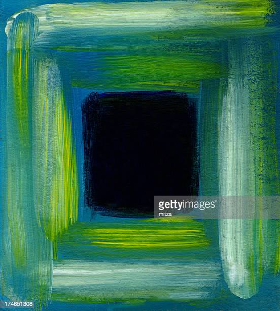 Abstract Background in Window Shape