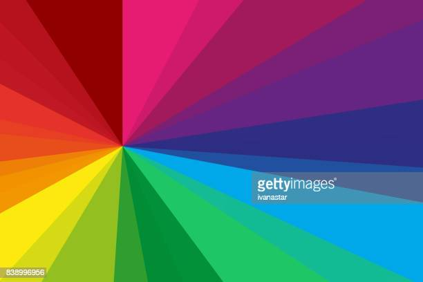 abstract background rainbow spectrum - rainbow stock illustrations, clip art, cartoons, & icons