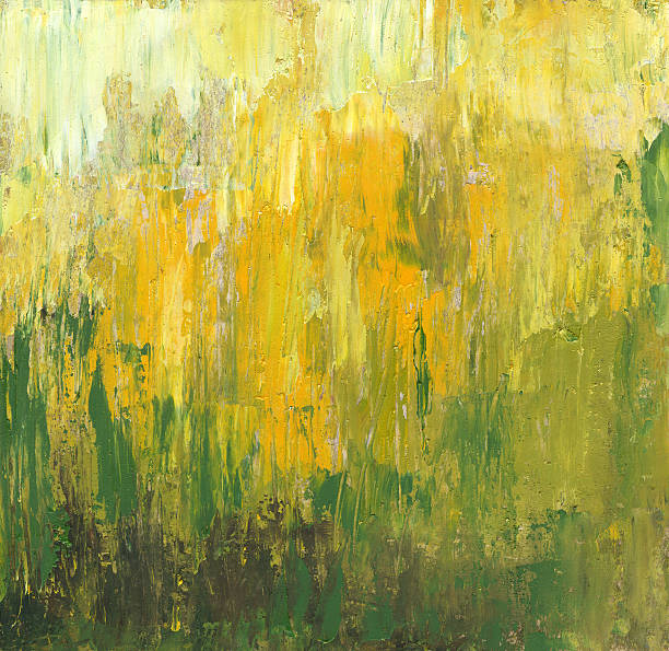 Abstract backgrounds in summer colors