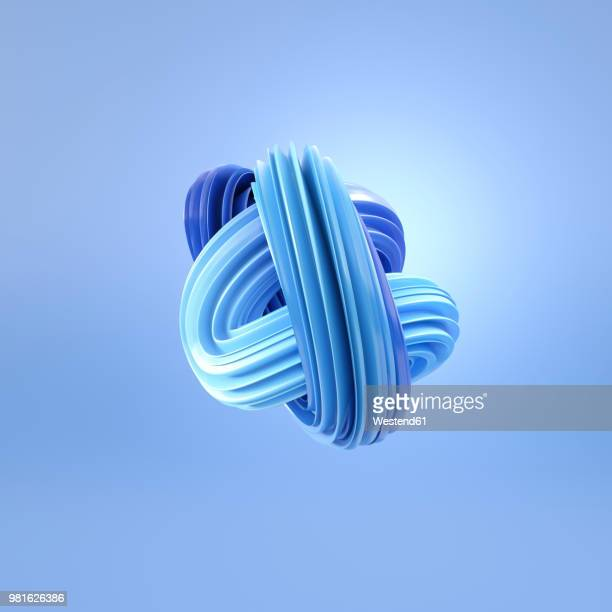 abstract blue swirl, 3d rendering - dissolving stock illustrations, clip art, cartoons, & icons