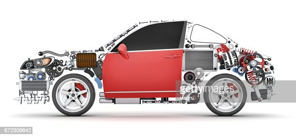 car parts list with pictures abstract car and many vehicles parts stock illustration 11968