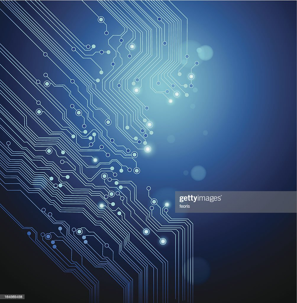 Abstract Circuit Board Background