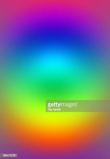 Abstract color gradient pattern