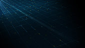 abstract digital technology background concept motion