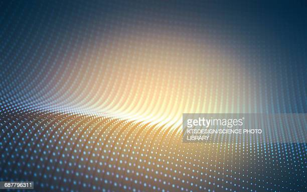 abstract dots and lights - light natural phenomenon stock illustrations, clip art, cartoons, & icons