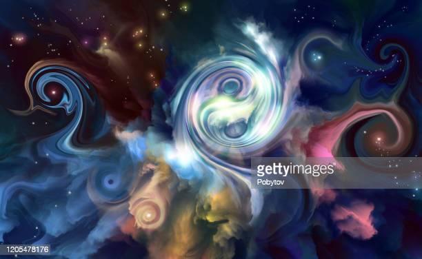 bildbanksillustrationer, clip art samt tecknat material och ikoner med abstrakt esoterisk bakgrund - chakra