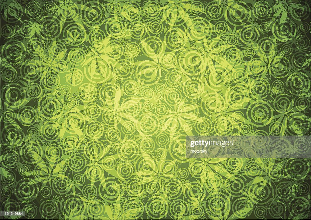 Abstract green background : stock illustration