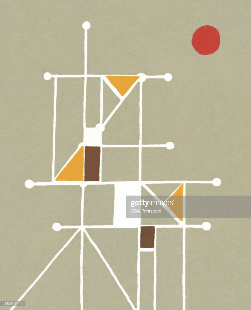 Abstract Grid : Stock Illustration