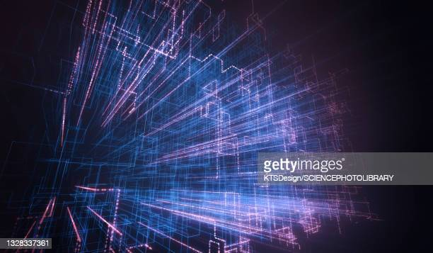 abstract illustration - complexity stock illustrations