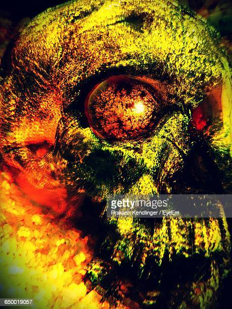 abstract image of skull - spooky stock illustrations