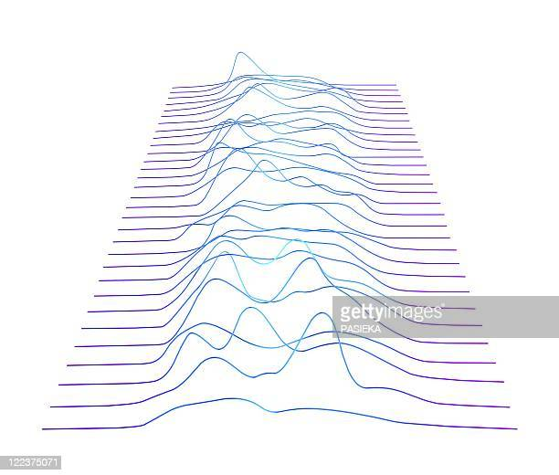 abstract line pattern - in a row stock illustrations