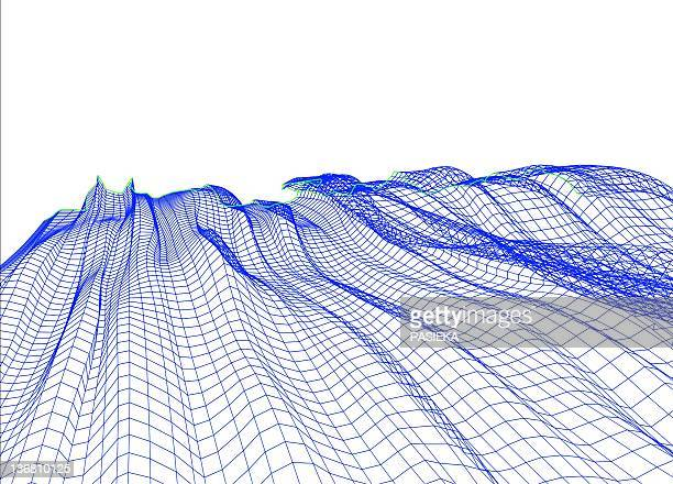 abstract line pattern - intricacy stock illustrations