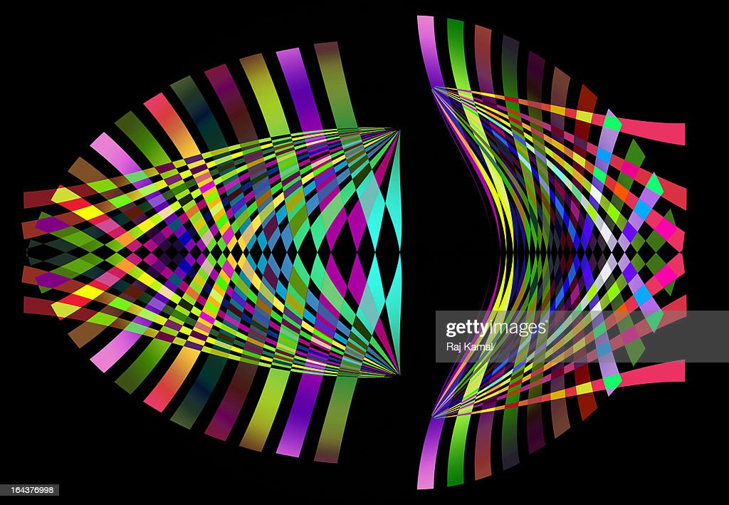 Abstract Lines Design Digitally generated : Stock Illustration