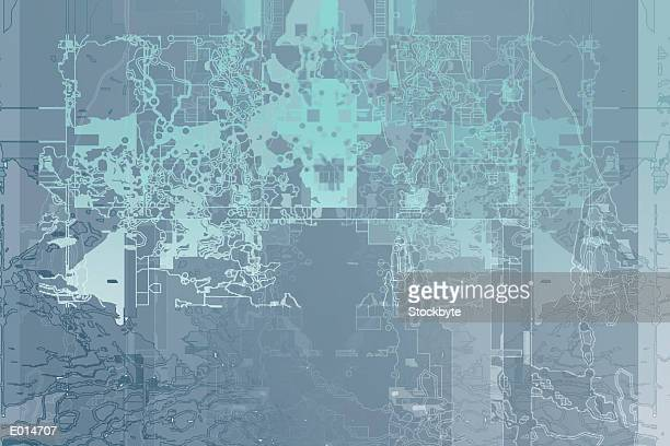 abstract map forms - geology stock illustrations, clip art, cartoons, & icons