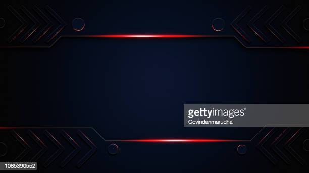 abstract metallic pepper textured red black frame layout design tech innovation concept background