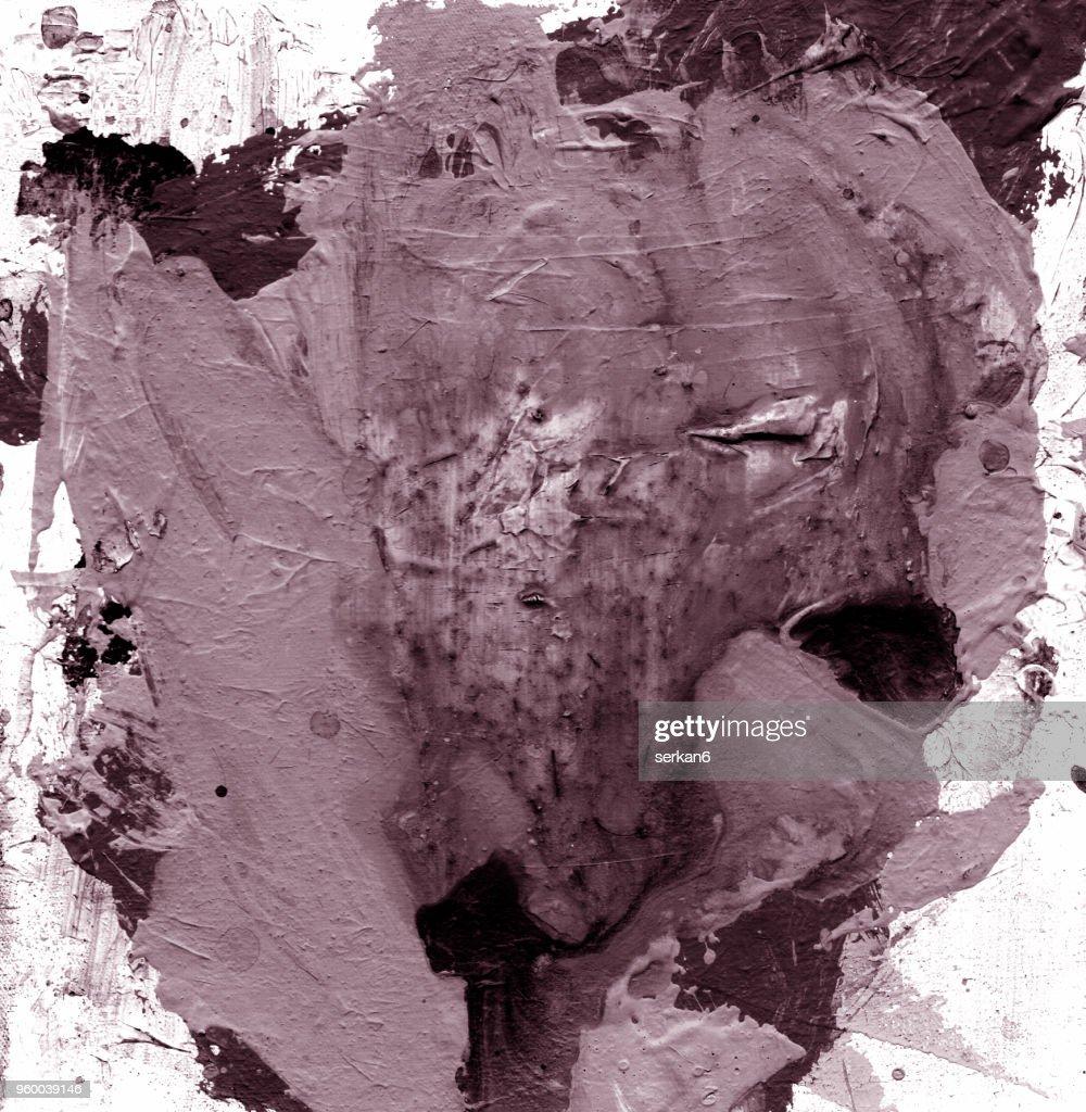 Abstrakte Ölmalerei : Stock-Illustration