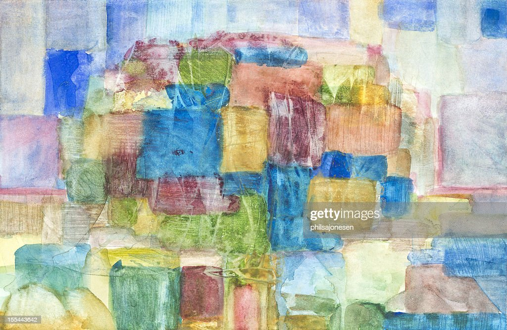 Abstract Painting : stock illustration