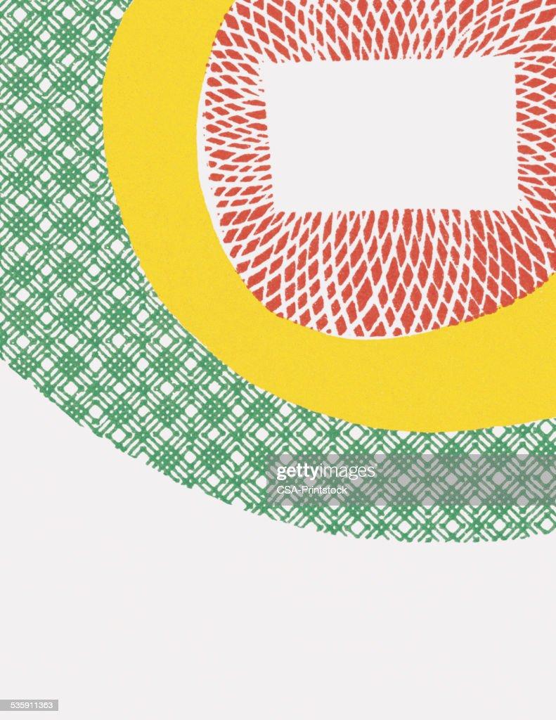 Patrón abstracto : Ilustración de stock