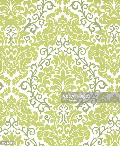 abstract pattern - vine stock illustrations